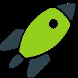 Grüne Rakete
