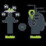 IT-Abteilungen: reaktiv vs. proaktiv