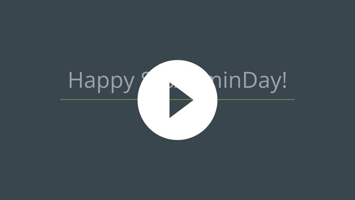 Happy Sysadmin Day Video Thumbnail